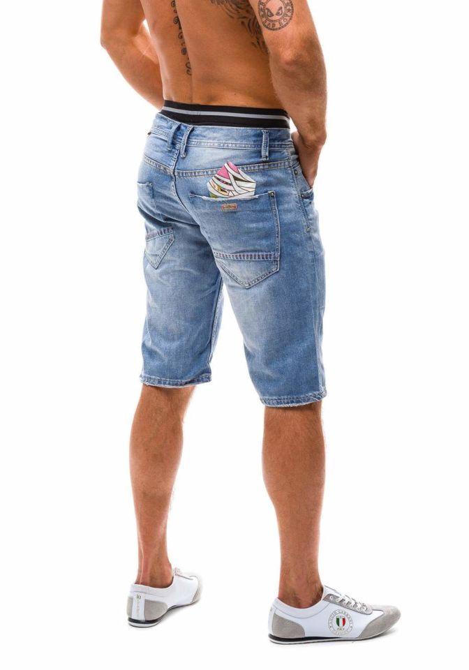 bolf herren jeans shorts hellblau 1059. Black Bedroom Furniture Sets. Home Design Ideas