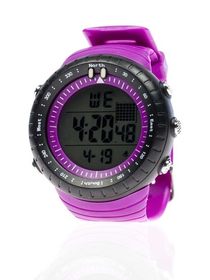 Bolf Armbanduhr Violett 8335