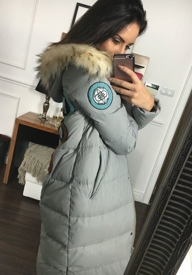 Bolf Damen Winterjacke Grau  8067