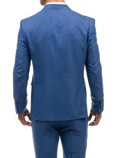Bolf Herren Anzug Hellblau  1000