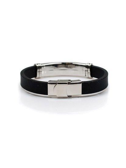 Bolf Herren Armband Schwarz B042