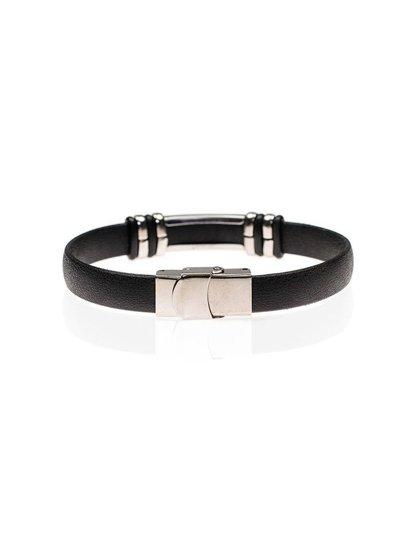 Bolf Herren Armband Schwarz B079