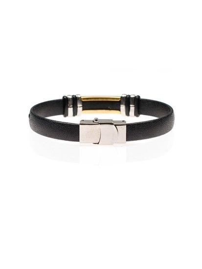 Bolf Herren Armband Schwarz B082