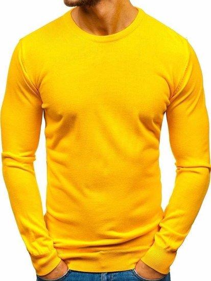 Bolf Herren Pullover Gelb  2300