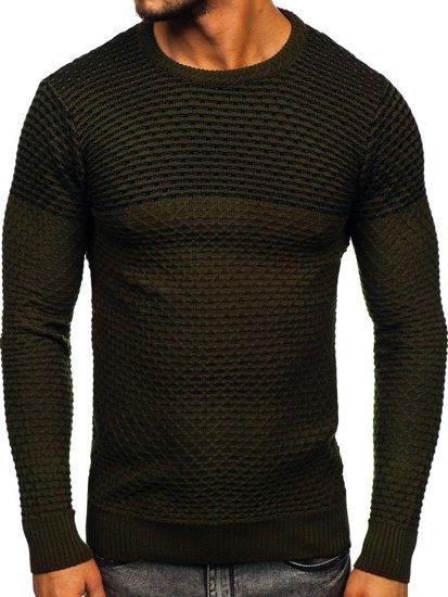 Bolf Herren Pullover Grün  328