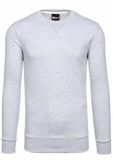 Bolf Herren Sweatshirt Grau 44S