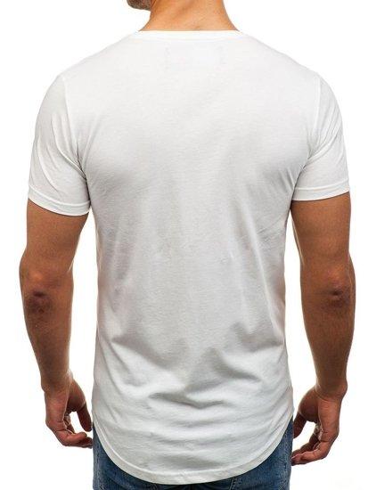 Bolf Herren T-Shirt Weiß 516
