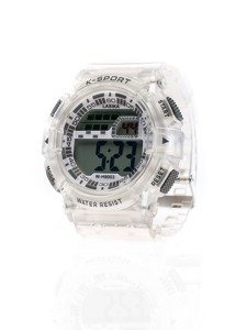 Bolf Armbanduhr  Weiß-Grau 9003