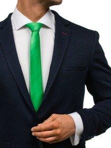 Bolf Herren Krawatte Grün K001