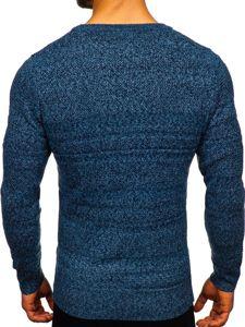 Bolf Herren Pullover Blau  H1926