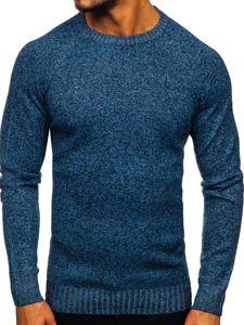Bolf Herren Pullover Blau H1929