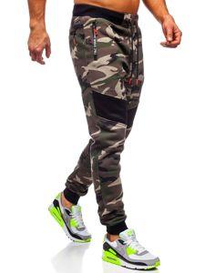 Bolf Herren Sporthose Camouflage Khaki  TC873