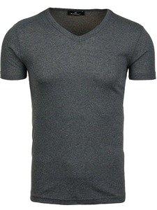 Bolf Herren T-Shirt Dunkelgrau 1002