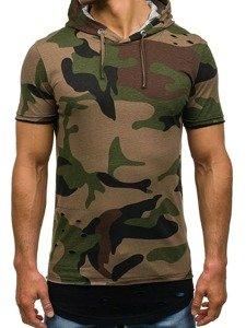 Bolf Herren T-Shirt Grün 1055